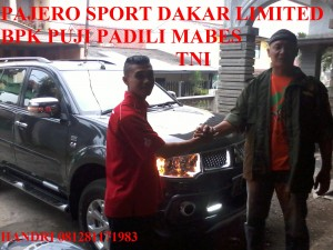 PAJERO SPORT DAKAR LIMITED EDITION BAPAK PUJI PADILI MABES TNI CILANGKAP