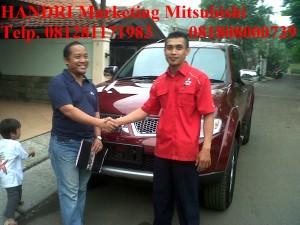 Pajero Sport DAKAR 2WD AT Merah Pak Satrijo Sigit Wirjawan Pondok Indah