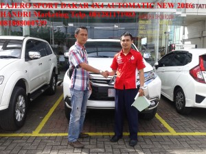 Pajero Sport DAKAR 4X4 AT Putih NEW 2016