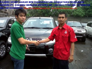 Pajero Sport DAKAR Bpk. Ciendrafuri Makassar