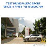 test drive pajero sport