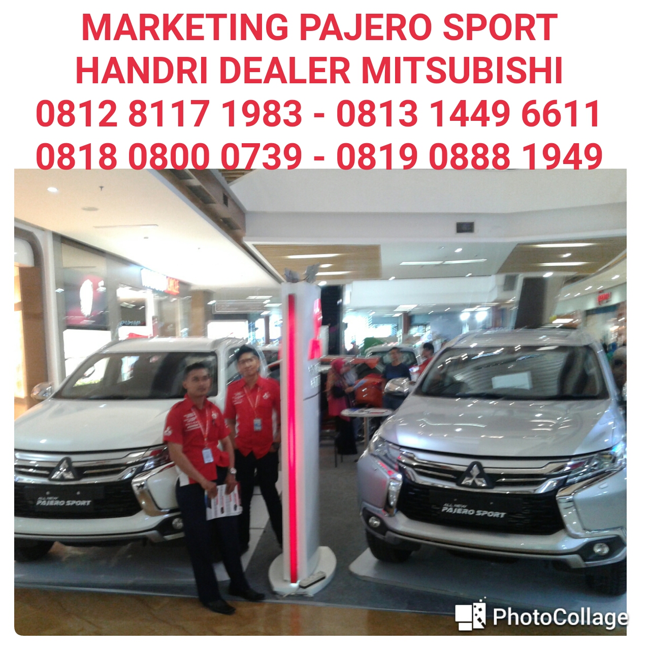 marketing pajero sport